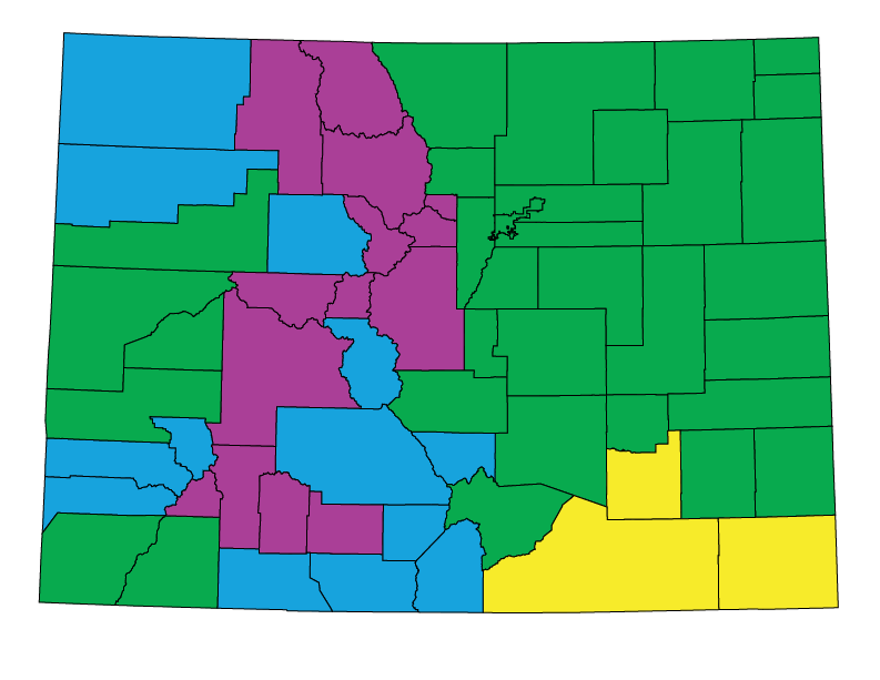 Colorado climate zones