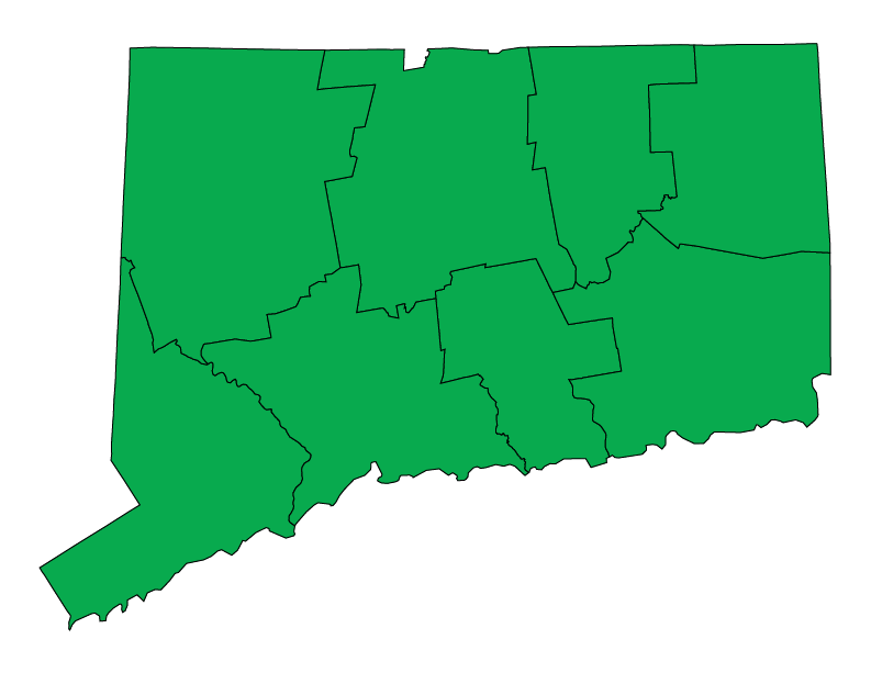 Connecticut climate zones