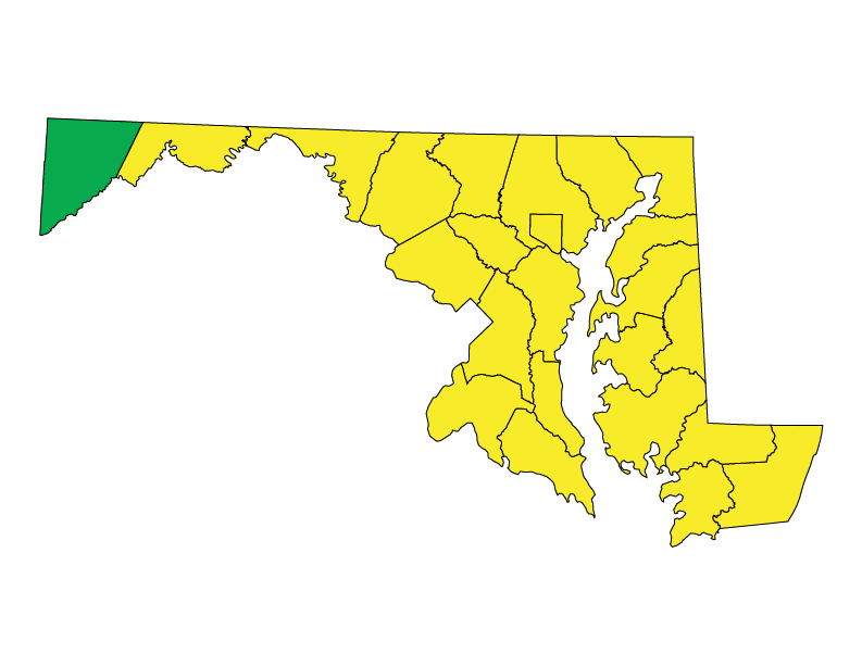 Maryland climate zones