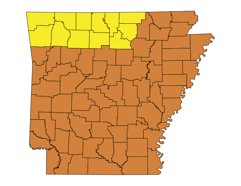 Arkansas Climate Zones
