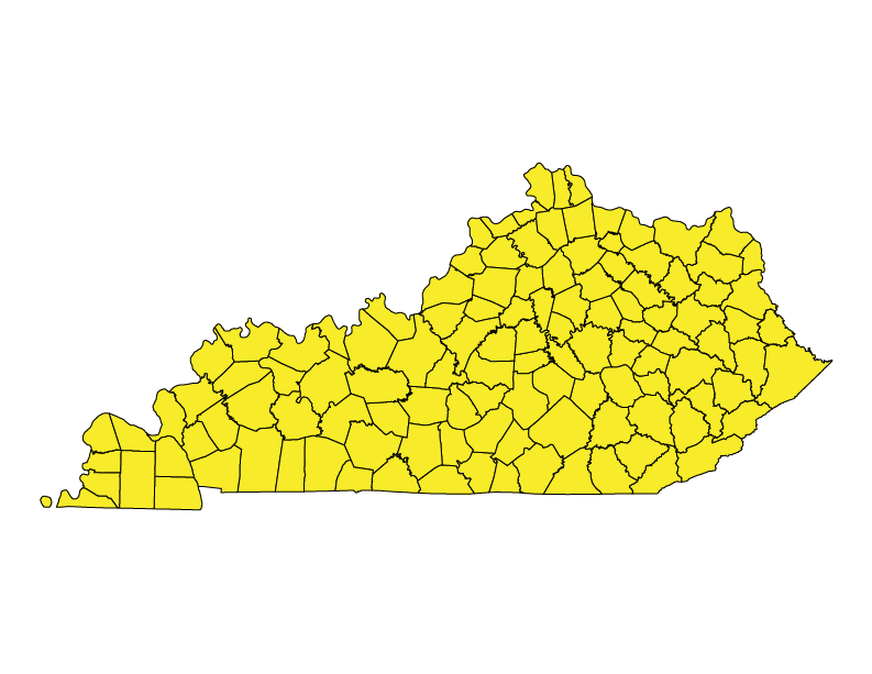 Kentucky climate zones